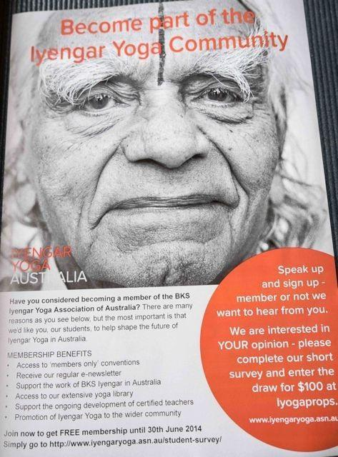 Sold out: 2014 BKS Iyengar Yoga Convention