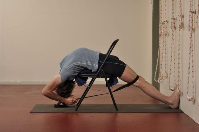 Viparita Dandasana: inverted staff pose