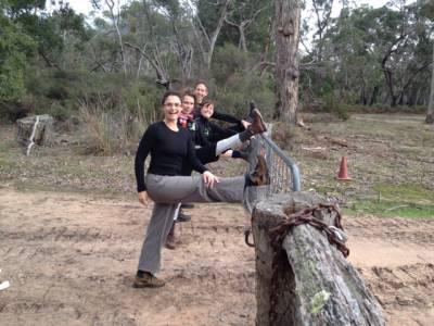 Yoga on the Serra Terror